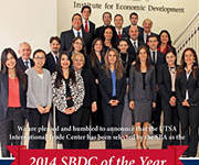 Institute's International Trade Center to Receive 2014 SBDC of the Year Award