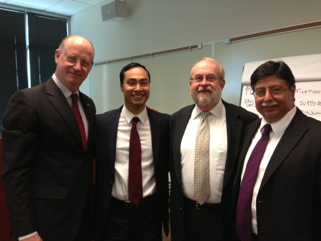 UTSA Small Business Development Center Hosted Small Business Roundtable for Congressman Joaquin Castro