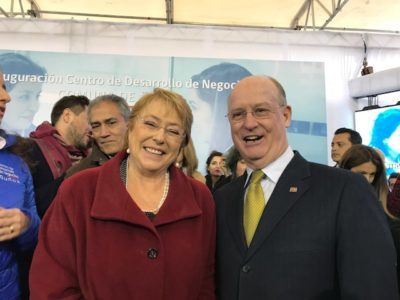 Chile completes nationwide network of 51 Small Business Development Centers (SBDC), strengthens economy, under guidance of UTSA Institute for Economic Development